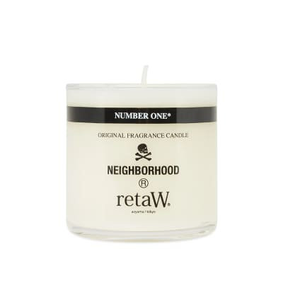 Neighborhood x retaW Number One Candle