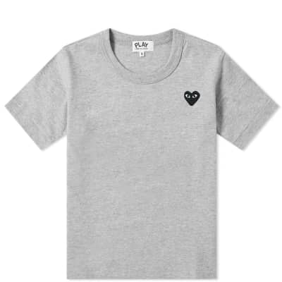 Comme des Garcons Play Kids Black Heart Tee