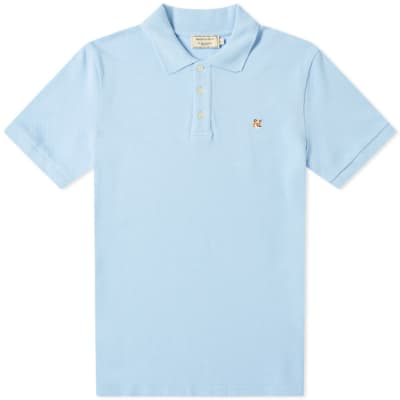 Maison Kitsuné Fox Head Embroidery Polo