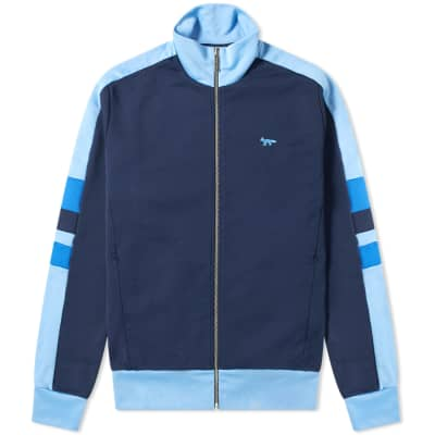 Maison Kitsuné Technical Zip Track Jacket