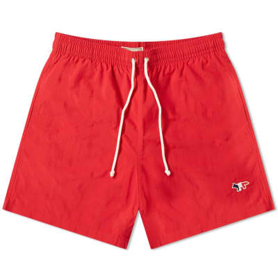 Maison Kitsuné Tricolour Fox Swim Short
