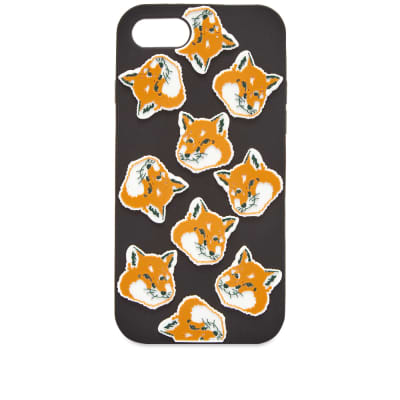 Maison Kitsuné 3D All-Over Fox Head iPhone 8 Case