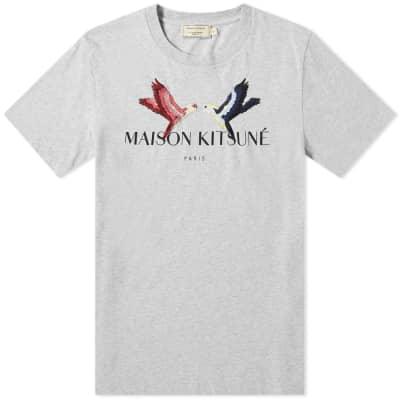Maison Kitsuné Lovebirds Tee