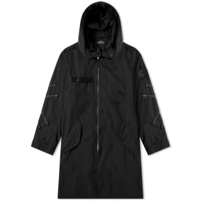 Stone Island Shadow Project Hollowcore Garment Dyed Long Parka