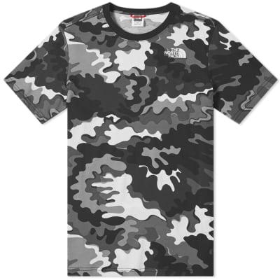 The North Face Psychedelic Camo Red Box Tee