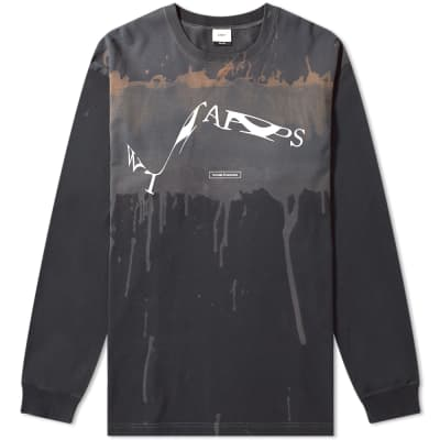 WTAPS Long Sleeve XeroX Tee