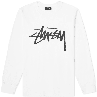 Stussy Long Sleeve Stock Tee