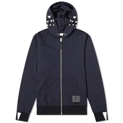 Coach Rexy Embroidered Zip Hoody