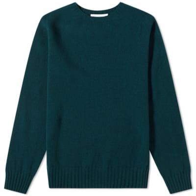 Officine Generale Seamless Scottish Wool Crew Knit