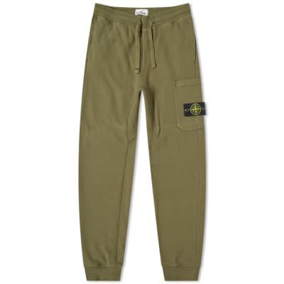 Stone Island Garment Dyed Cargo Sweat Pant