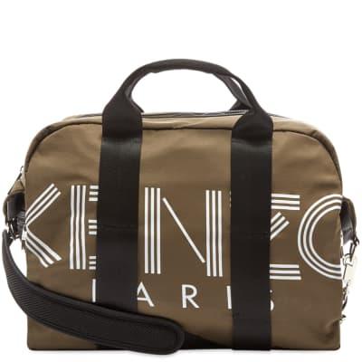Kenzo Paris Logo Weekend Bag