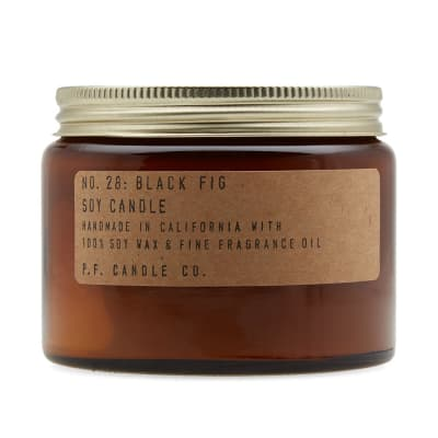 P.F. Candle Co No.28 Black Fig Double Wick Soy Candle