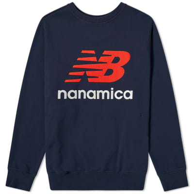 New Balance x Nanamica Coolmax Crew Sweat