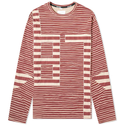Napa by Martine Rose Long Sleeve Multi Stripe Tee