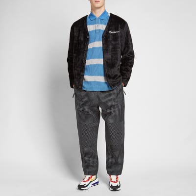 Napa by Martine Rose Stripe Knitted Rugby Sweat