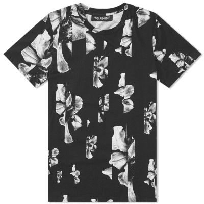 Neil Barrett Hibiscus All Over Print Tee