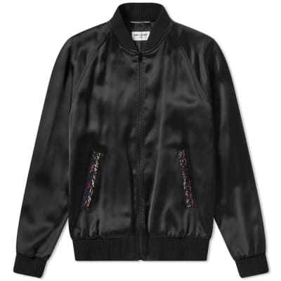 Saint Laurent Beaded Teddy Jacket