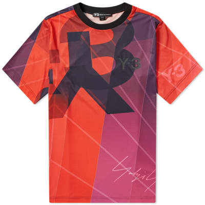 Y-3 All Over Print Football Shirt