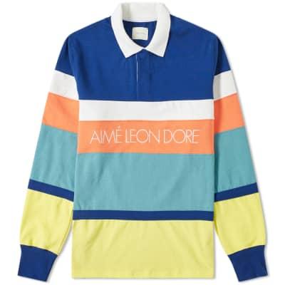 Aimé Leon Dore Stripe Rugby Shirt
