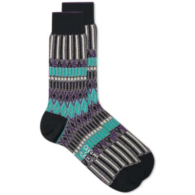 Ayame Socks Basket Lunch Sock