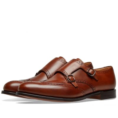 Church's Chicago Wing Tip Double Monk Shoe
