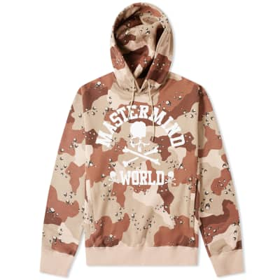MASTERMIND WORLD College Skull Popover Hoody