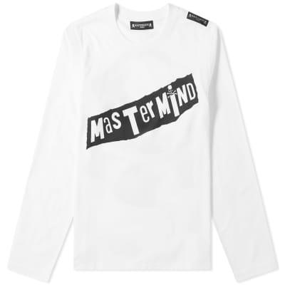 MASTERMIND WORLD Long Sleeve Punk Script Tee