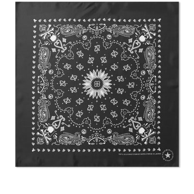 MASTERMIND WORLD Silk Skull Scarf