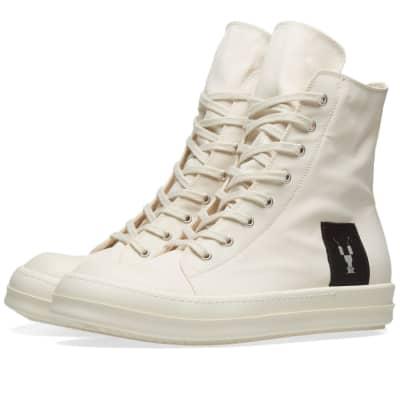 Rick Owens DRKSHDW Canvas High Top Sneaker
