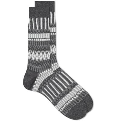 Ayame Socks Basket Lunch Basic Sock