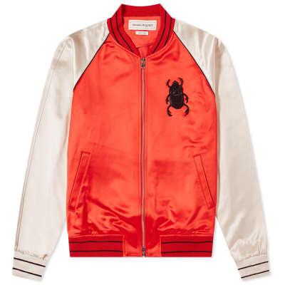 Alexander McQueen Skull Beetle Souvenir Jacket