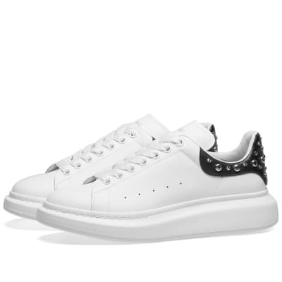 Alexander McQueen Studded Wedge Sole Sneaker