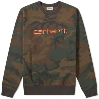 Carhartt Carhartt Logo Sweat