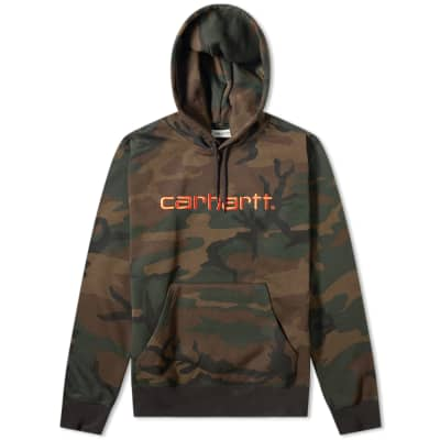 Carhartt Hooded Logo Sweat
