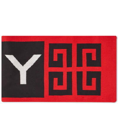 Givenchy 4G Logo Football Scarf