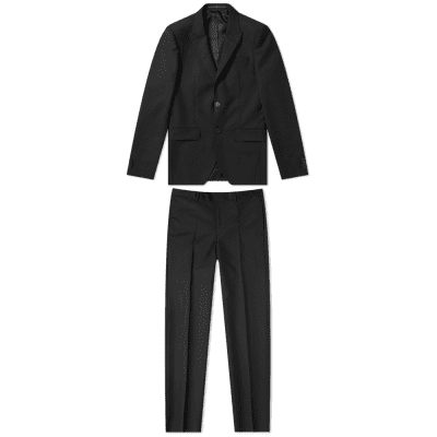 Givenchy Single Breasted Wool Mohair Suit