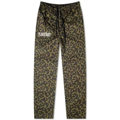 PLEASURES Leopard Beach Pant