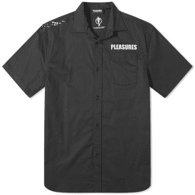 PLEASURES Short Sleeve Transformer Vacation Shirt