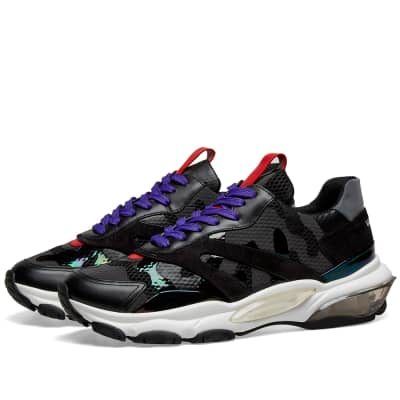 Valentino Bounce Tech Camo Runner