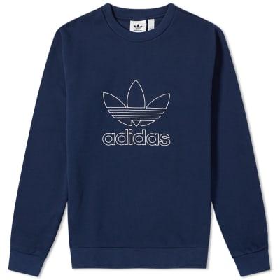 Adidas Outline Crew Sweat