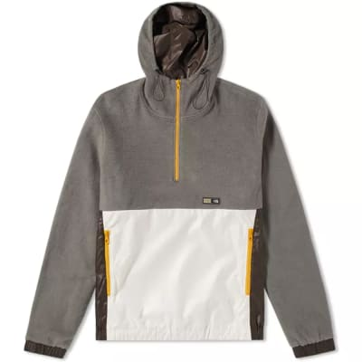 Lanvin Mountain Fleece Popover Jacket