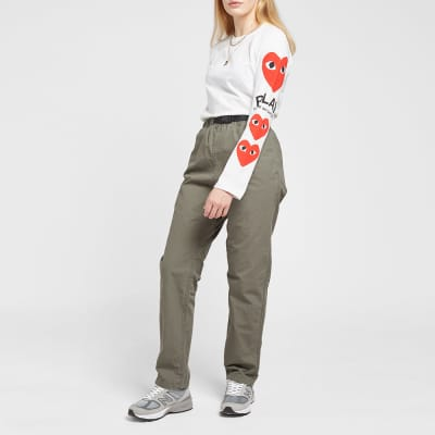 Comme des Garcons Play Women's Long Sleeve Multi Heart Tee
