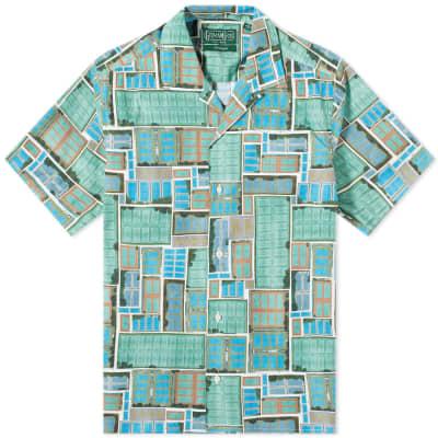 Gitman Vintage Short Sleeve Camp Collar Courts Shirt