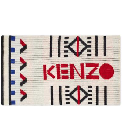 Kenzo Peruvian Knit Scarf