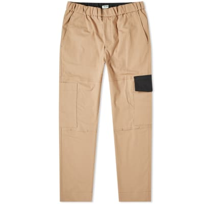 8388e81c3b203 Kenzo Tapered Cropped Cargo Pant