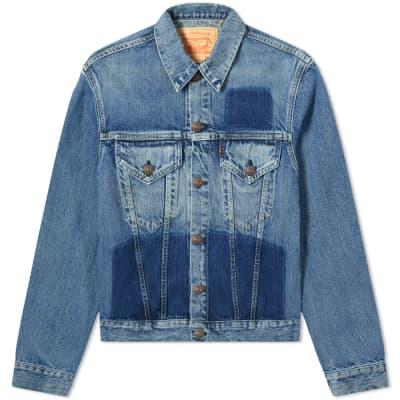 Levi's Vintage Clothing 1961 Type III Panel Washed Denim Jacket
