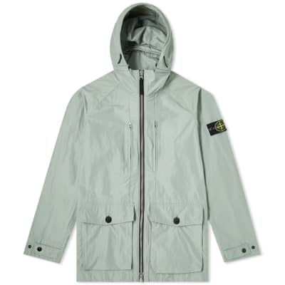 d95682f4b Stone Island Micro Reps Hooded Zip Jacket