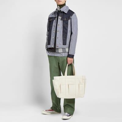 JW Anderson Gingham Patchwork Denim Jacket
