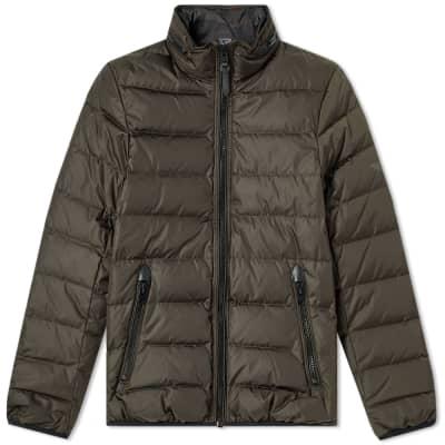 Coach Reversible Print Puffer Jacket