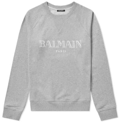 Balmain Paris Logo Raglan Sweat